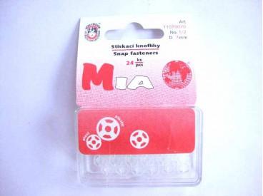 Drukknoop plastic 7mm.