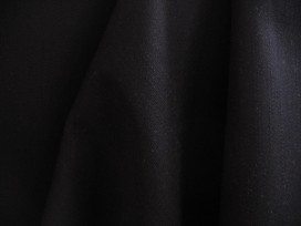 5v Katoen Zwart stretch iets dikker 10025
