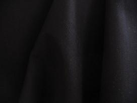 Katoen Zwart stretch iets dikker 10025