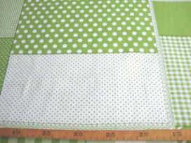 Boerenbont Patchwork Lime 5634-24N