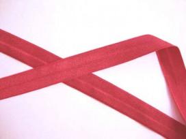 8x Elastisch biaisband Rood 469