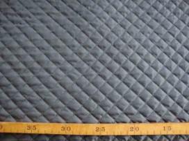 5z Gewatteerde voering Grijs Kleine ruit 3279-24