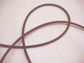 Koord elastiek Bruin per meter