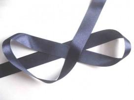 Satijnlint Donker Oudblauw 25mm. 200T