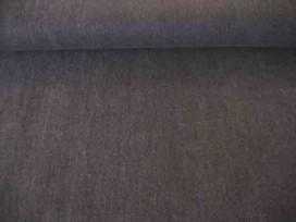Een soepelvallende zwarte jeans van Polytex. 100% katoen 1.50 mtr. br. 1.60