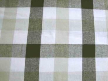 Boerenbont 2 kleurig Zwart/grijstaupe 30x30mm. 1006-69N