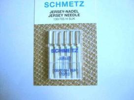 Schmetz naaimachine naalden. Jersey / ballpoint naalden voor tricot stoffen. 5 stuks per doosje Naalddikte 70/10