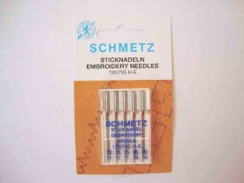 Schmetz borduurnaalden  ass/Embroidery 75-90