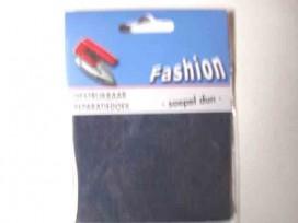 Reparatiedoek van jeans. Zo kunt u in 1 keer een groot oppervlak repareren. Opstrijkbaar 10 x 40 cm