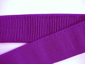 Boordband elastisch Donkerpaars