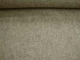 8n Stripe Linnen/katoen Mini Zwart 2621-9999BK11