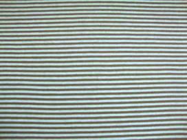 Tricot streep mini Bruin/lime 951498-1PL
