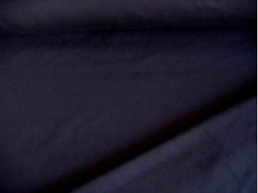 Zwarte viscose tricot.  92%visc./8%el.  1.60 mtr.br  225 gr/m²