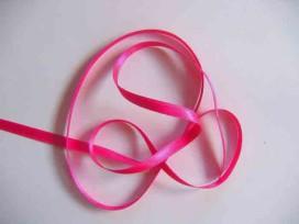 Satijnlint Donker Pink 6 mm breed