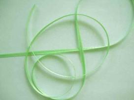 4y Satijnlint Licht Lime 3mm. 66g
