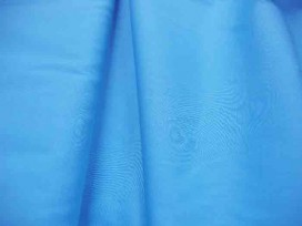 Poplin polyester-katoen Aqua