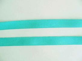 Keperband 2cm. Aqua-groen