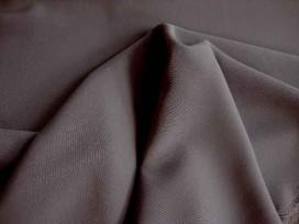 Crepe stof Zwart 6611-01