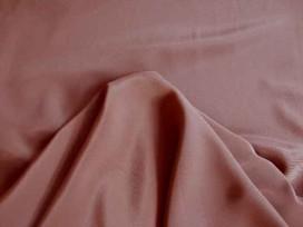 Crepe stof Bruin 6611-21