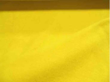 Gele anti pilling polar fleece. 100% polyester 1.55 mtr.br.