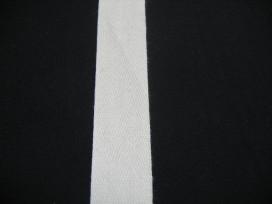 Keperband 2cm. creme