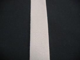 Keperband 2cm Beige