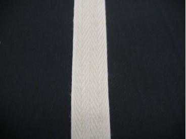 Keperband 2cm. licht beige