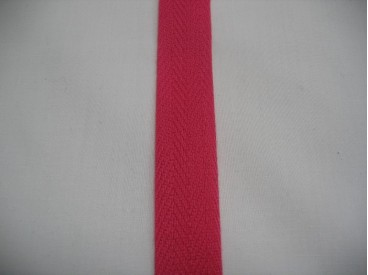 Keperband 2cm. fuchsia