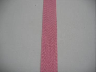 Keperband 2cm. roze