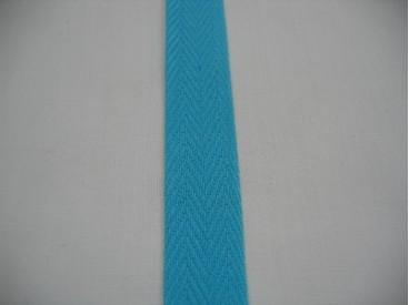 Keperband 2cm. aqua