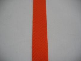 Keperband 2cm. oranje