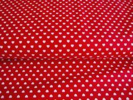 5k Mini hartje Rood/wit 1264-15N