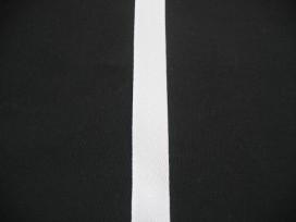 Keperband 1,5cm wit