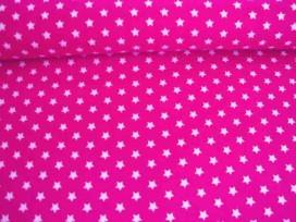 Sterretje katoen Pink/wit 1266-17N