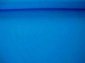 Katoen stof effen Aqua
