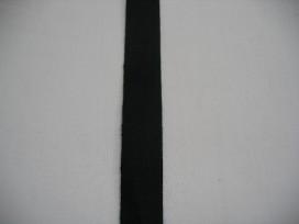 Keperband 15mm zwart