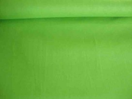 5f Effen katoen Lime past bij de lime stoffen 5580-24N