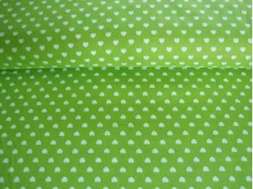 5k Mini hartje Lime/wit 1264-24N