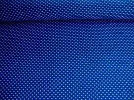 Mini stip katoen Blauw/wit 5575-5N