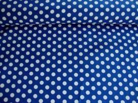 Middelstip katoen Blauw/wit 5576-5N
