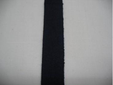 Keperband 1,5 cm donker blauw