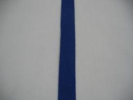 Keperband 15mm kobalt