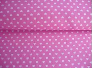 5k Mini hartje Roze/wit 1264-11N
