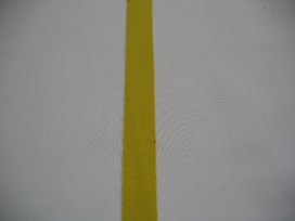 Keperband 1.5cm. geel