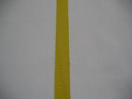 Keperband 15mm geel