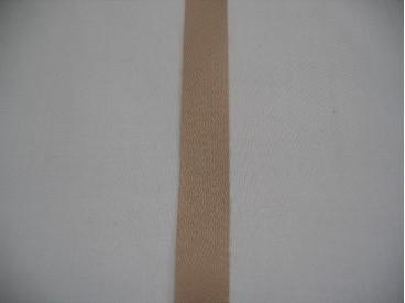 Keperband 1.5cm. beige