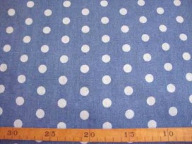 2s Jeans Middenblauw met stip 3815-23