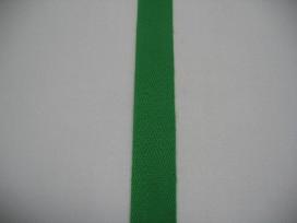 Keperband 1.5cm. gras groen