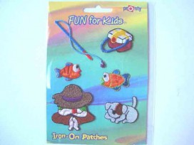 5g Iron-on Fun for kids Vissen