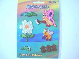 Iron-on Fun for kids Vlinders